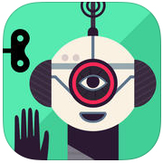 Apps educativas e divertidas para crianças. A Fábrica de Robôs app