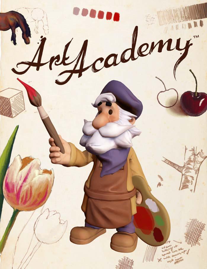 Art Academy Atelier para WiiU, da Nintendo