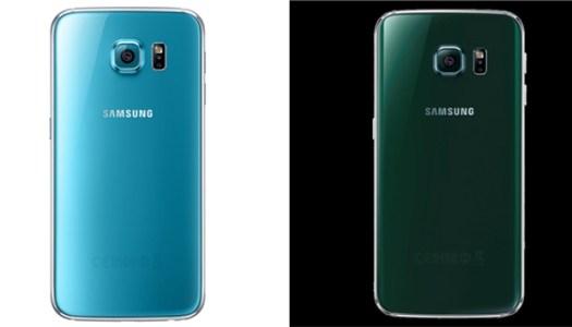 As novas cores do Galaxy S6