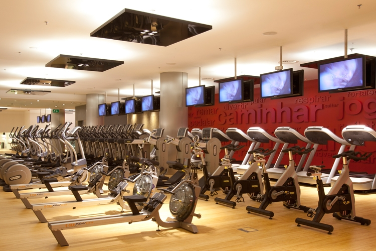 Fitness e tecnologia. Virgin Active Lisboa