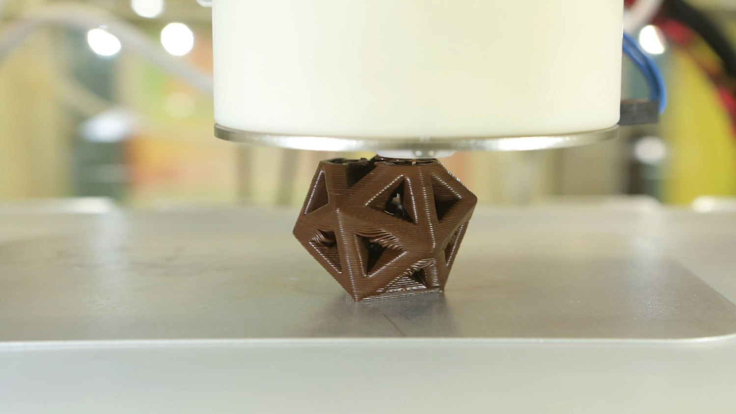Impressão 3D para chocolate personalizado