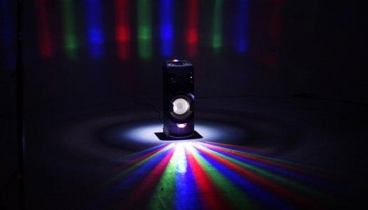 Teste: Um sistema de áudio que é uma festa