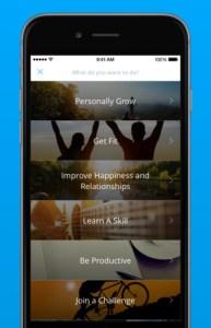 3 apps para ajudar a tornar os em realidade. Coach.Me app
