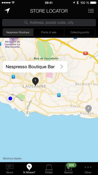 App Nespresso. Café à distância de um clique.