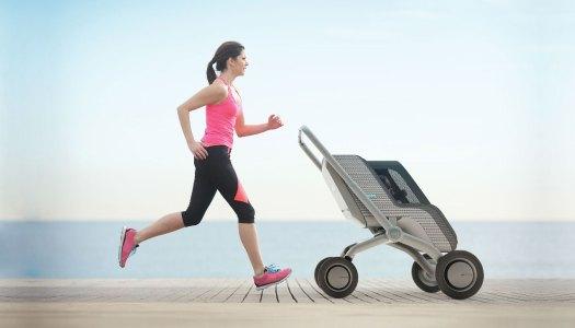 Um carrinho de bebé superinteligente