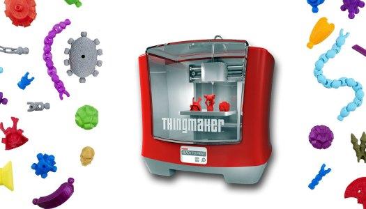Impressora 3D para fazer brinquedos em família
