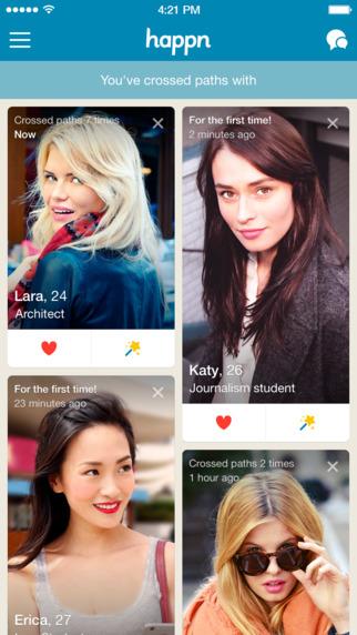 4 apps para encontrar o seu amor de Primavera. Happn