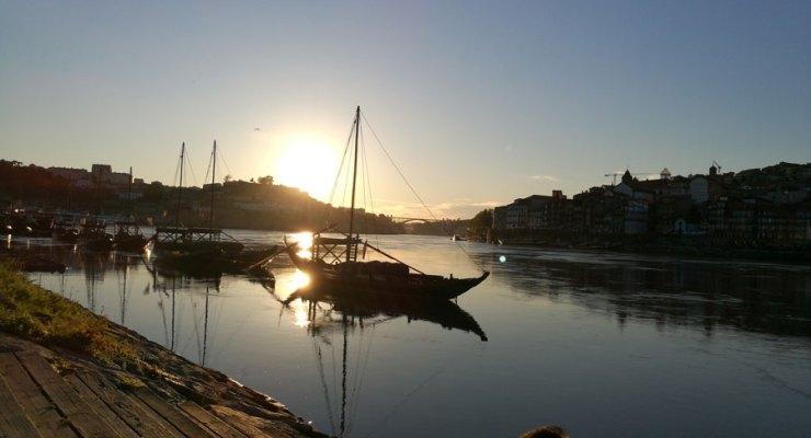Porto, fotografado com o P9