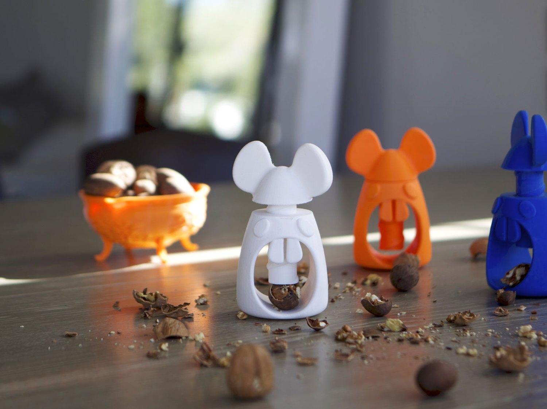 Impressão 3D: Do computador para a cozinha. Quebra-nozes