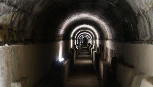 Fotografia: Nos subterrâneos de Lisboa