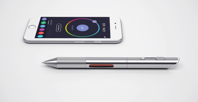 Cronzy. Uma caneta, milhões de cores