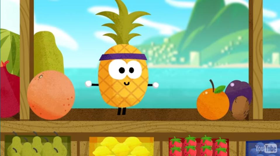 Doodle Fruit 2016, o novo jogo da Google app
