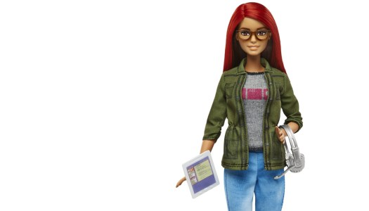 Uma Barbie game developer!