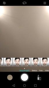 Huawei Nova, com maquilhagem nas selfies