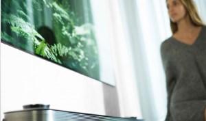 Gadgets que nos farão perder a cabeça. TV LG Signature OLED W