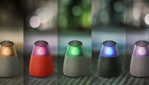 Teste coluna LG PH3: Música à luz de vela