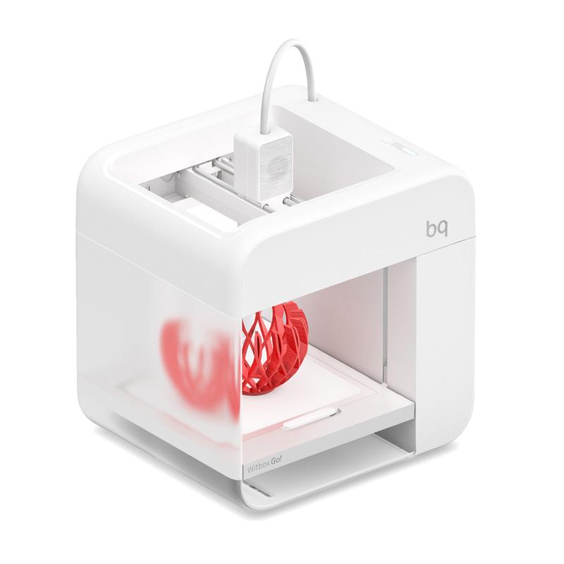 Witbox go!, uma impressora 3D fácil e prática, da BQ