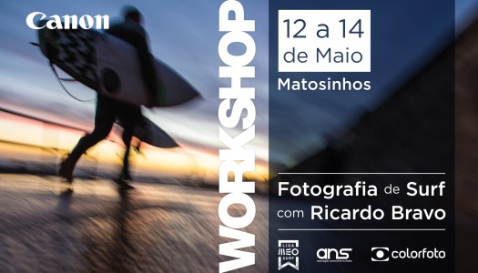 Workshop de fotografia de surf