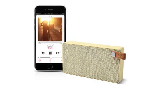 Coluna portátil: Música com estilo