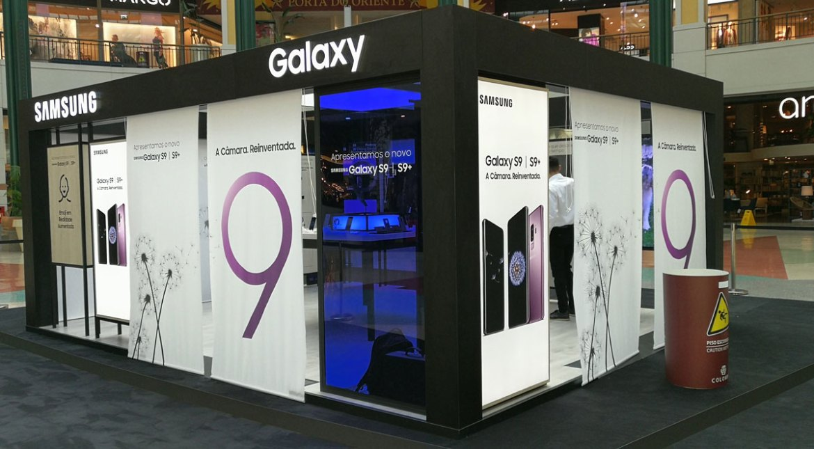 Samsung Galaxy Studio, no Colombo
