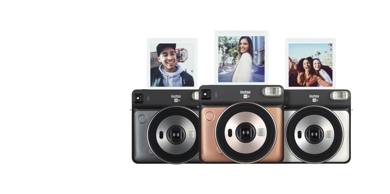 A nova Instax Square SQ6, da Fujifilm