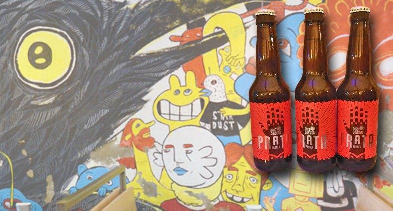 Prata, cerveja Pilsen da Dois Corvos