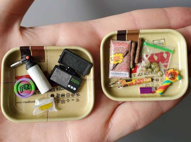 What's in your Stash? Megh McCalla, Miniature Artist