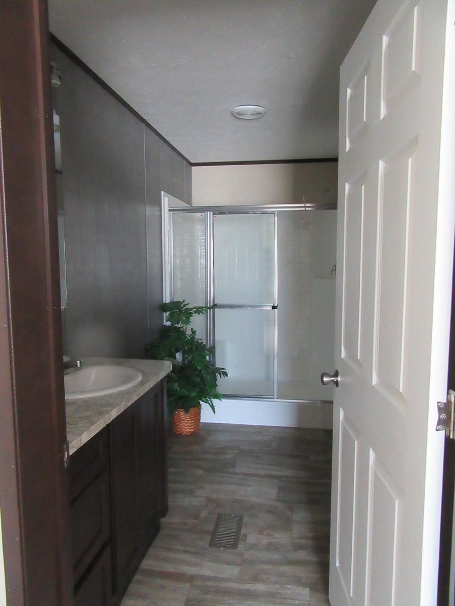 High Touch Homes LM-2 Model Bathroom