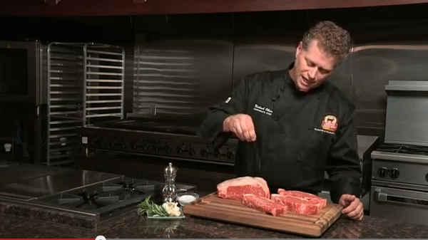 VIDEO: Seasoning Steaks