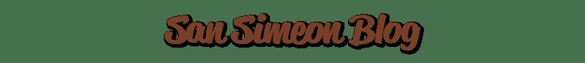San Simeon Blog