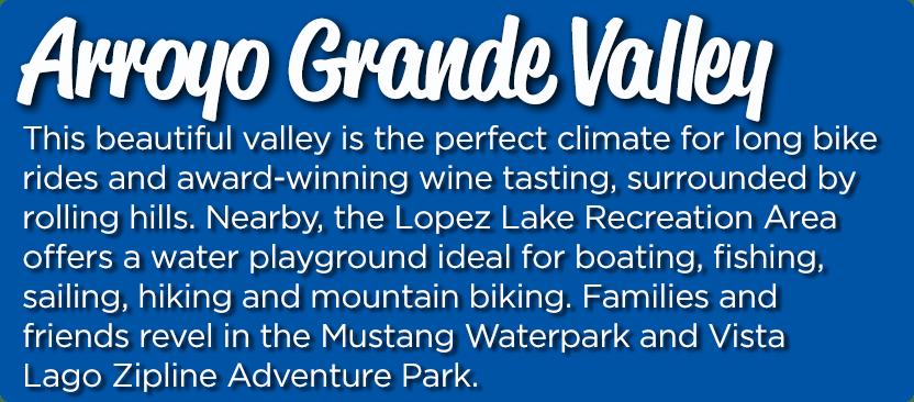 Arroyo Grande Valley Location Slider