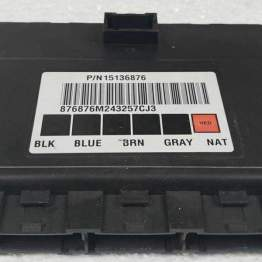 Gm Body Control Module Programmed To Your Vin Part No 15136876 BCM