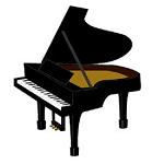 回転椅子に座って電子ピアノ弾いてるんだがだめ?