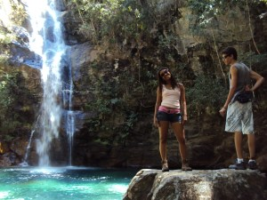 Cavalcante - Santa Barbara Waterfall