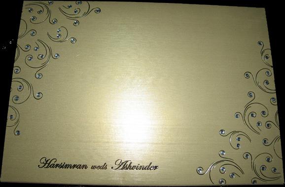 Nicest Wedding Invitation Card ever (2/3)