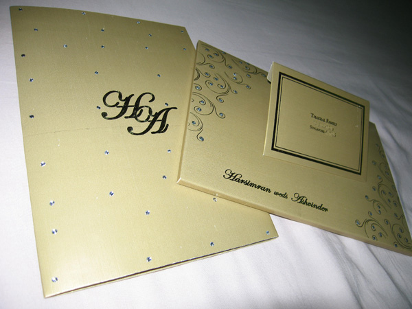 Nicest Wedding Invitation Card ever (1/3)