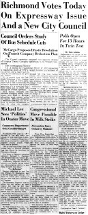 june 13 1950-richmond votes today on expressway-news