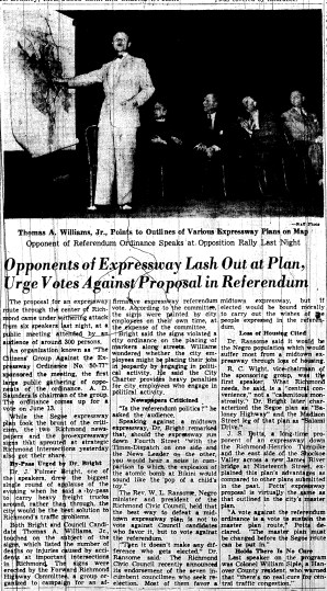 june 2 1950-opponents of expressway lash out-news