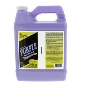 California Custom Purple Metal Polish