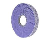 "10"" Purple Flat Fold Buffing Wheel (w/o Center Plate)"
