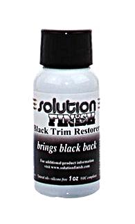 Solution Finish Black Trim Restorer (1 oz. btl.)