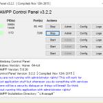 XAMPP Apache + MariaDB + PHP + Perl(ザンプ)インストール