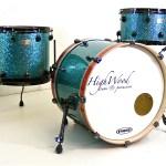 HighWood Custom Lite - turquoise & orange cast sparkle