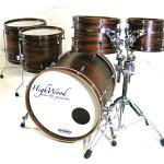 HIghWood Custom, Santos Rosewood Exotic Ply, Interior & exterior, Wood Hoops
