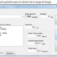 PROGRAMA CÁLCULO CARGA DE FUEGO