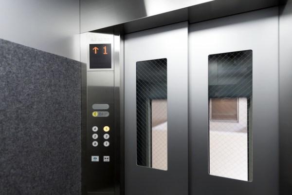 熊本城エレベーター
