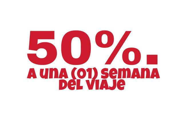 2 50 por ciento