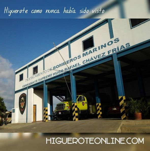 Destacamento de Bomberos Marinos de Carenero en Higuerote