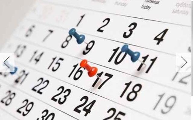 Calendario de Fechas Viaje a la Isla de la Tortuga