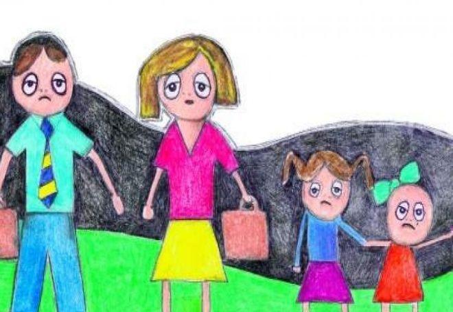 hijos menores y no lo dejan viajar a la Tortuga